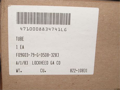 COOLING TUBE FOR C-130 AIRCRAFT, NS/NOS, FACTORY PACKED