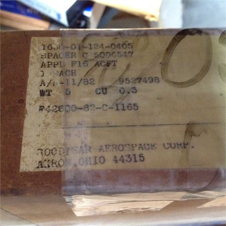 SPACER, FOR F-16 BRAKING SYSTEM, NS/NOS, FACTORY PACKED